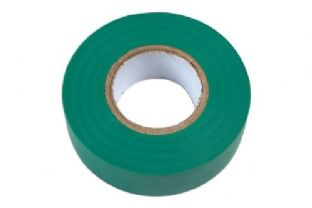 Connect 36890 Green PVC Insulation Tape 19mm x 20m Pk 1